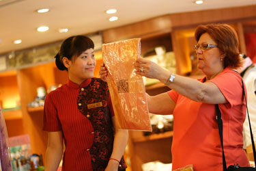 Shopping for Chinese Silk