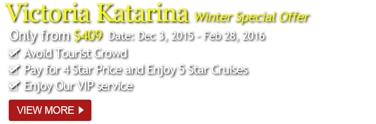 Victoria Katarina, Yangtze cruise winter travel