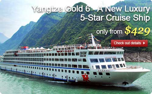 Yangtze Gold 6, only from $429