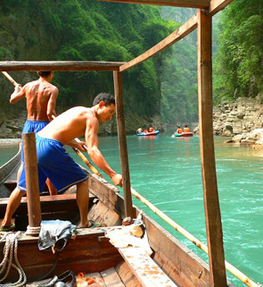 the Leeser Three Gorges