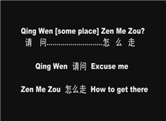 Learn Chinese Series  Asking Directions Part one